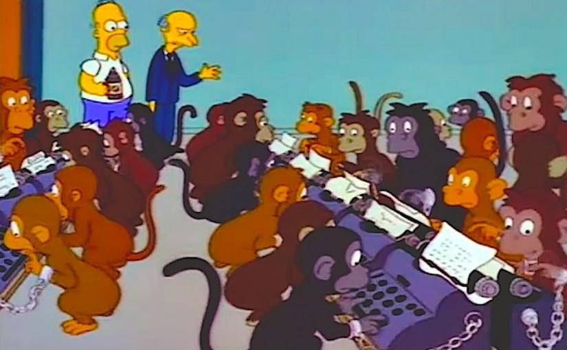 ¿Cuántos monos se necesitan para escribir el Quijote?